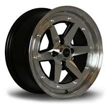 rota wheels 4x100. 4x rota osr black / polished face alloy wheels 15x7\ 4x100