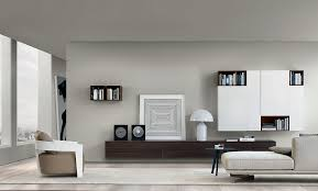 view in gallery gorgeous wooden wall mounted living room units decorated using black and white accessories