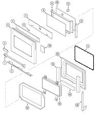 jenn air svd48600p gas electric slide in range timer stove svd48600p gas electric slide in range door parts diagram wiring information parts diagram
