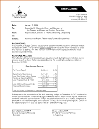 8 Internal Memo Examples Lease Template