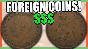 5 Foreign Coins That Are Worth Money Great Britain Penny Coins To Look For