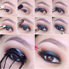 eye makeup for asian droopy eyes cartoonview co