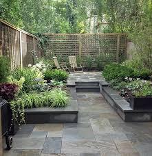 smallgarden tuin ideeën patio tuin