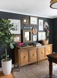 home office repin image sofa wall. Love The Mix Of Art And Mirrors In This Gallery Wall Hung On Black Walls With Home Office Repin Image Sofa