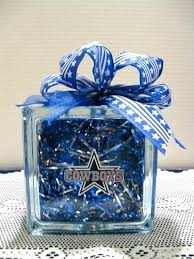 dallas cowboys table cowboys table centerpieces items similar to cowboy fans glass block on cowboys home dallas cowboys
