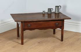 french country chestnut centre drawer