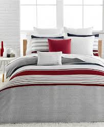 Lacoste Home Auckland Red Full/Queen Duvet Cover Set | Queen duvet ... & Lacoste Auckland Red Full/Queen Duvet Cover Set - Bedding Collections - Bed  & Bath Adamdwight.com