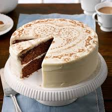 Frosted Chocolate Cake Recipe Taste Of Home