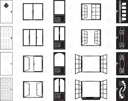 doors clipart. Plain Clipart Doors And Windows  Simple Silhouettes Vector Image U2013 Artwork Of  Silhouettes Outlines  Click To Zoom Inside Clipart