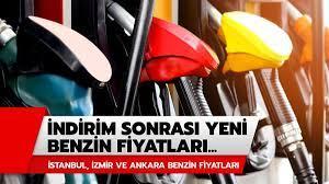 İstanbul, Ankara ve İzmir güncel benzin fiyatları! İndirim sonrası benzin  fiyatları ne kadar oldu?
