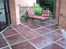 patio paint ideasDiy Concrete Patio Ideas  Home Design Ideas and Pictures