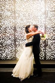i love the wall of le lights how to decorate your wedding with le lights