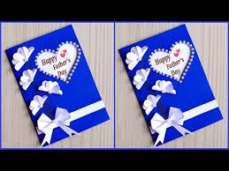 While spending time with him is what matters most, creating a sweet diy father's day card is definitely icing on the cake. Easy And Beautiful Card For Father S Day Fathers Day Card Making Ideas Very Easy Handmade Youtube
