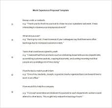 Work Proposal Template 11 Free Word Excel Pdf Format Download