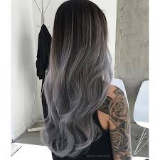 Ombre Hairstyle 49 Stunning Breathtaking Gray Hair Color Done By Chermariano Color