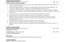 It Objective Resume Security Statement Examples For Information