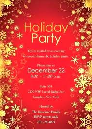 Christmas Party Template Invitation Bahiacruiser