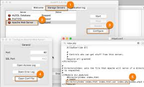 How to Modify the httpd.conf File using XAMPP on OSX | Webucator