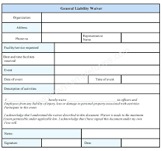 Liability Waiver Template Extraordinary Liability Waiver Release Form Example Free Thistlephotoco