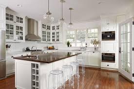 transitional kitchen by dezaar interiors