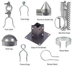 chain link fence corner parts. Exellent Parts Chain Link Fence Parts Latch Corner  And D