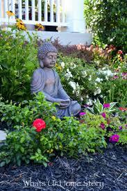 garden buddha statues. Add An Outdoor Buddha Statue For A Zen Garden Feel Statues