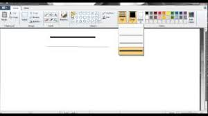Start with horizontal dotted lines, they're easier than the vertical ones. How To Draw Various Lines In Ms Paint Youtube