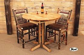 industrial style outdoor furniture. Signature Design By Round Pub Table Add Industrial Style And With Regard To Rustic Tables Idea 8 Outdoor Furniture