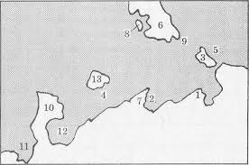 Контрольно измерительные материалы по учебному предмету География  7 Огромные участки суши окруженные со всех сторон водой называют