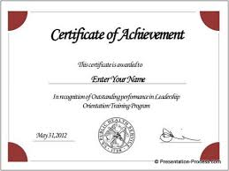 Microsoft Powerpoint Certificate Template Create Printable Certificates In Powerpoint In A Jiffy