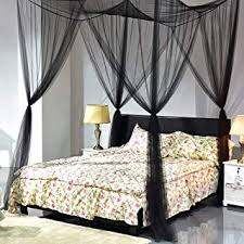 Amazon.com: Black - Bed Canopies & Drapes / Bedding: Home & Kitchen
