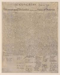 declaration of independence declaration of  1776 declaration of independence declaration of independence date declare independence and declaration of independence facts