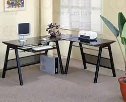 shaped home office desks. Contemporary L-shaped Home Office Set | Sets Shaped Desks E