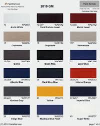 Clark And Kensington Paint Color Chart 44 Factual Gm Paint Colors