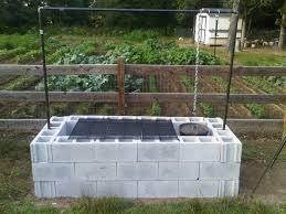 cinder block fire pit diy concrete block fire pit grill outdoor how regarding appealing concrete block