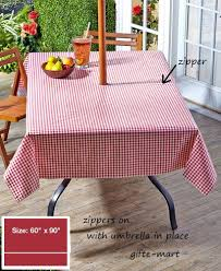 red 90 long zippered vinyl umbrella hole table cover outdoor patio with proportions 819 x 1000