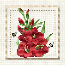 Cross Stitch Flower Patterns Classy Free Cross Stitch Patterns By EMS Design Free Project 48 Flower