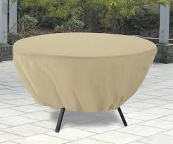 round patio table cover with zipper