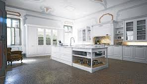 kitchen design cabinets traditional light: white traditional kitchen design of ceiling decor and white pantry cabinet with glass door also