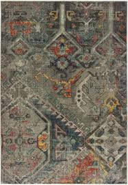 oriental weavers mantra 001x7 grey multi area rug