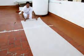 Impermeabilización De Cubierta Aplicación Pintura Pintura Impermeabilizar Terraza Transitable