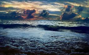 dark ocean wallpapers. Brilliant Wallpapers OriginalWide Dark Ocean Calico Clouds Storm Wallpapers With Wallpapers K