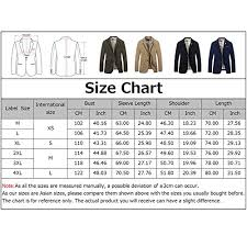 Tapoo Mens Blazer Jackets Casual Slim Fit Two Buttons