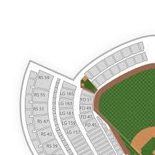Concert Ticket Layout Inspiration Dodger Stadium Seating Chart Map SeatGeek