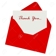 3 278 thank you note cliparts stock vector and royalty thank thank you note thank you note inside a red envelope illustration isolated on white background