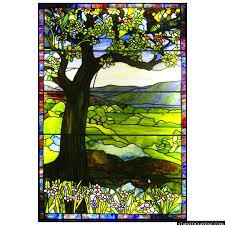 colorful tree landscape