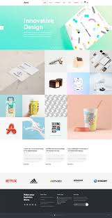 Tech Startup Web Design Ayro Tech Startup Theme Innovation Design Web Design