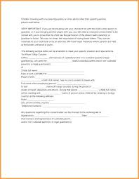 Notarized Letter Of Guardianship Guardianship Authorization Letter Notarized Template For