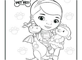 Doc Mcstuffins Coloring Doc Coloring Pages With Doc Coloring Pages