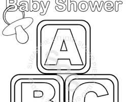 baby shower coloring pages coloring pages for baby shower free best of copy il 340 x 270